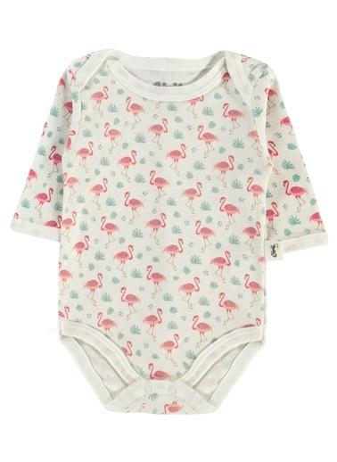 Civil Baby  Kız Bebek 2'Li Çıtçıtlı Badi 0-24 Ay Ekru  Kız Bebek 2'Li Çıtçıtlı Badi 0-24 Ay Ekru Ekru